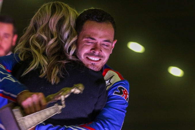 Larson savors first Chili Bowl win