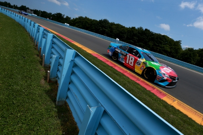 Kyle Busch collects enemies not points at The Glen