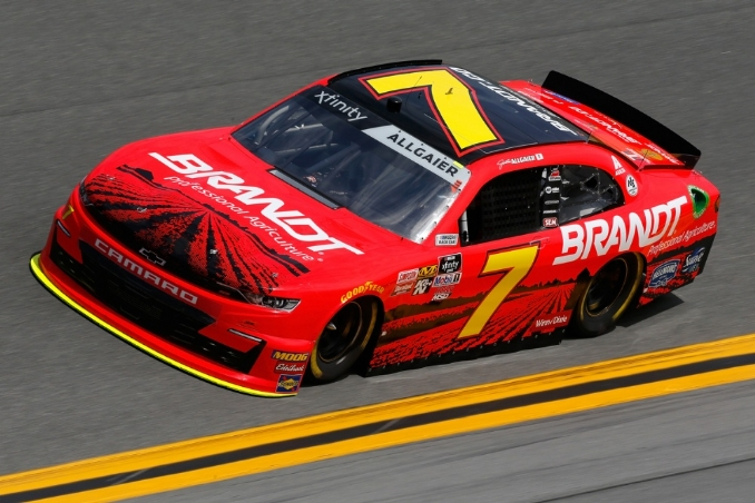 Can Allgaier rekindle the magic at Iowa Speedway?