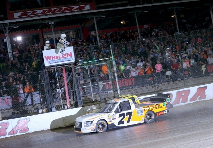 Briscoe hopes to defend his Eldora win with ThorSport