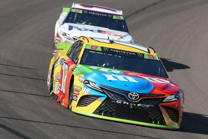 The NASCAR Cup Series is changing its marketing platform for 2020