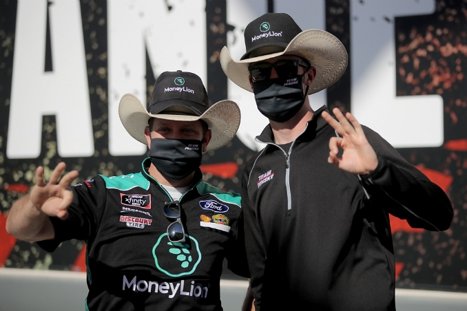 Cindric wins three straight after Kyle Busch is DQed
