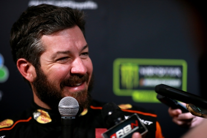 Truex hopes nice guys don't finish last