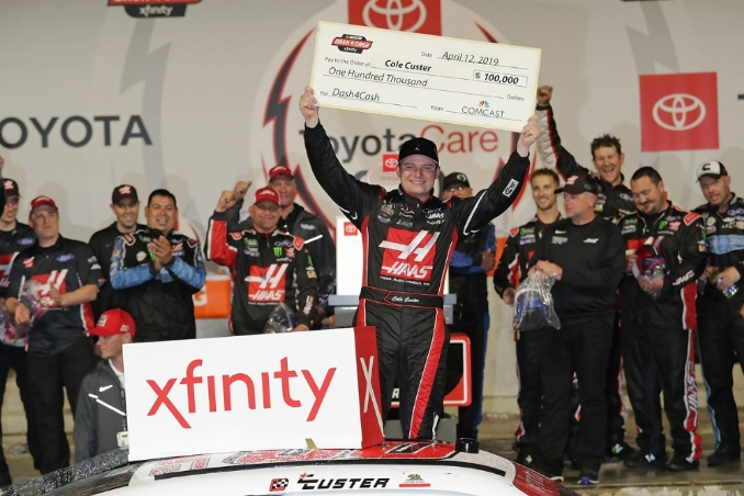 NASCAR Xfinity Series: Cole Custer passes go, collects $100,000 at Richmond