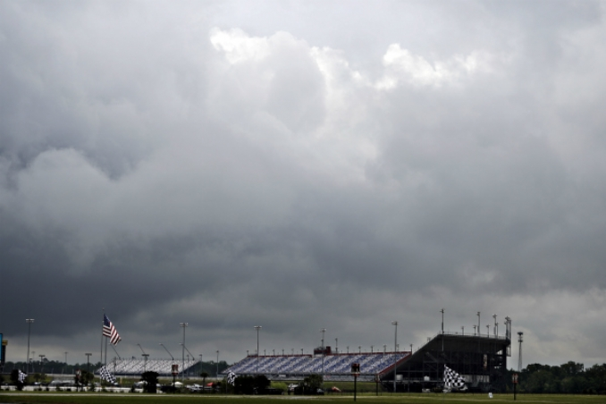 Mother Nature rains on NASCAR's Xfinity Series parade