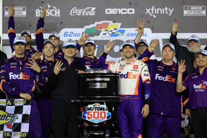 Pairing with crew chief Chris Gabehart fuels Denny Hamlin's success