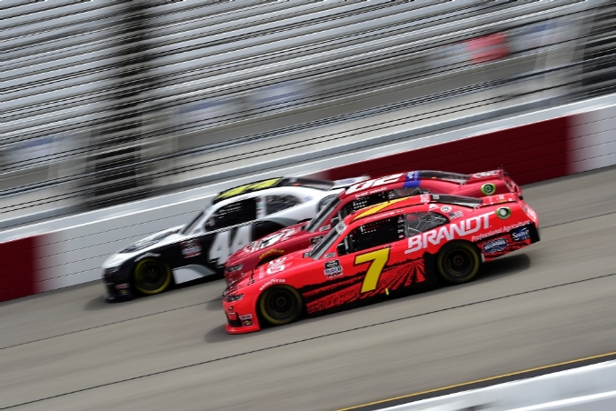 Justin Allgaier is brilliant in weekend sweep at Richmond