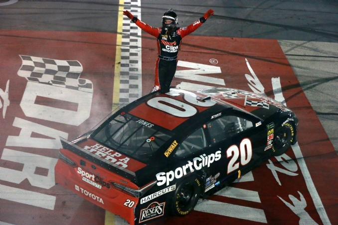 The Bojangles' Southern 500 was worth the wait for Erik Jones