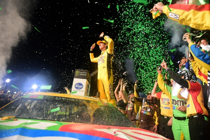 Haven't we learned by now? Never bet against Kyle Busch