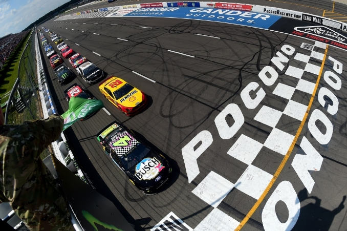 NASCAR green flags 23 race dates in third phase of 2020 rescheduling