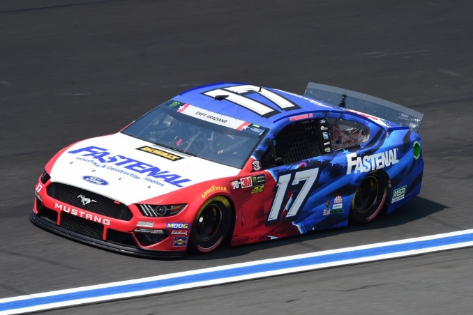 Stenhouse will perform double duty at Charlotte this weekend
