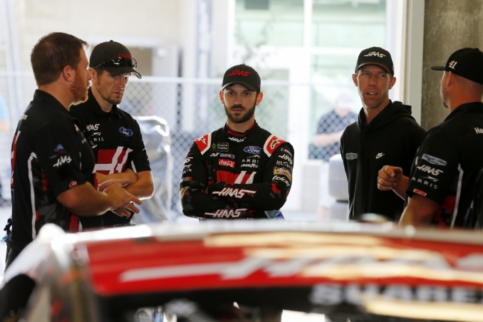 Suarez out, Custer in the No. 41 Stewart-Haas Racing Ford next year
